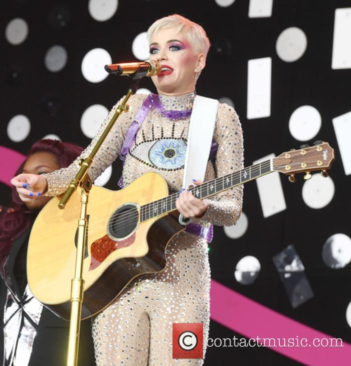 Katy Perry at Glastonbury 2017