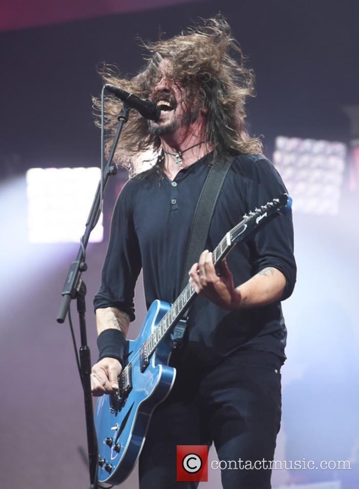 Foo Fighters at Glastonbury Festival