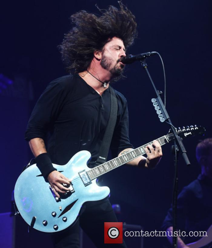 Foo Fighters live at Glastonbury