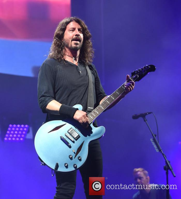Foo Fighters perform at Glastonbury