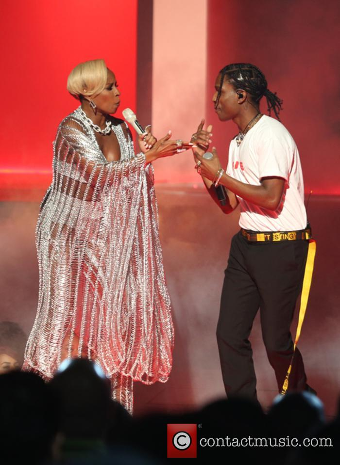Asap Rocky and Mary J. Blige 3