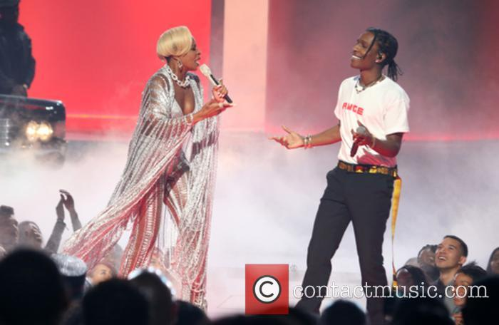 Asap Rocky and Mary J. Blige 4