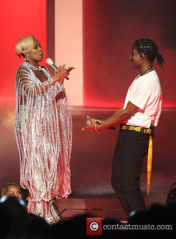 Asap Rocky and Mary J. Blige 6