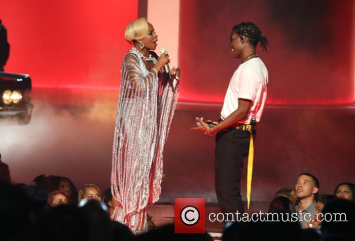 Asap Rocky and Mary J. Blige 7