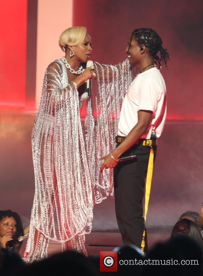 Asap Rocky and Mary J. Blige 8
