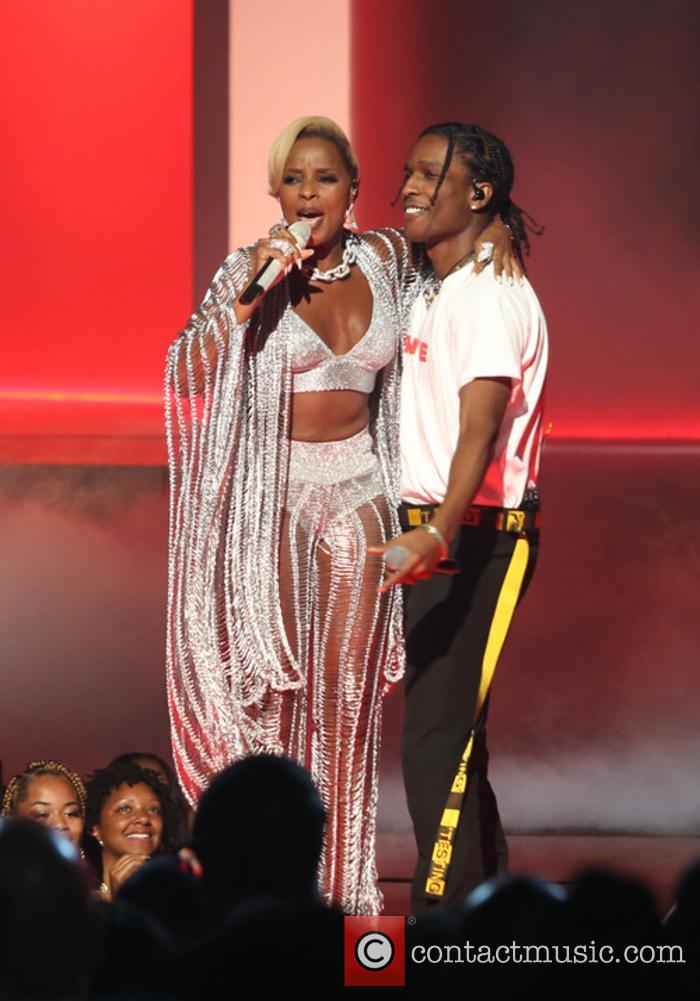 Asap Rocky and Mary J. Blige 9