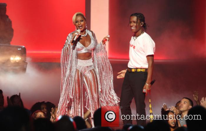 Asap Rocky and Mary J. Blige 10