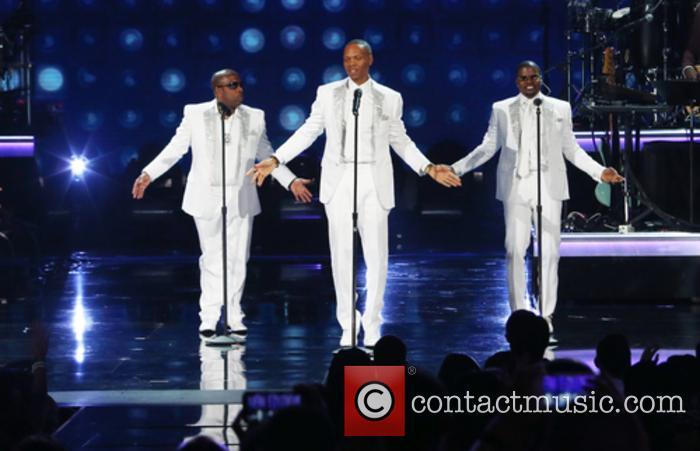 Bobby Brown, Ronnie Devoe, Ricky Bell, Johnny Gill, Ralph Tresvant and Michael Bivins