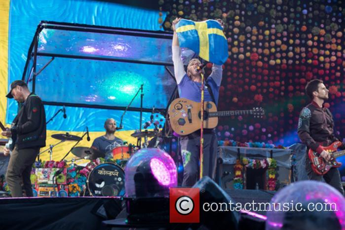 Coldplay, Guy Berryman, Jonny Buckland, Will Champion and Chris Martin 1