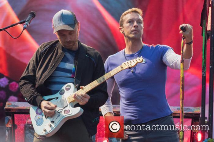 Coldplay, Chris Martin and Jonny Buckland 3