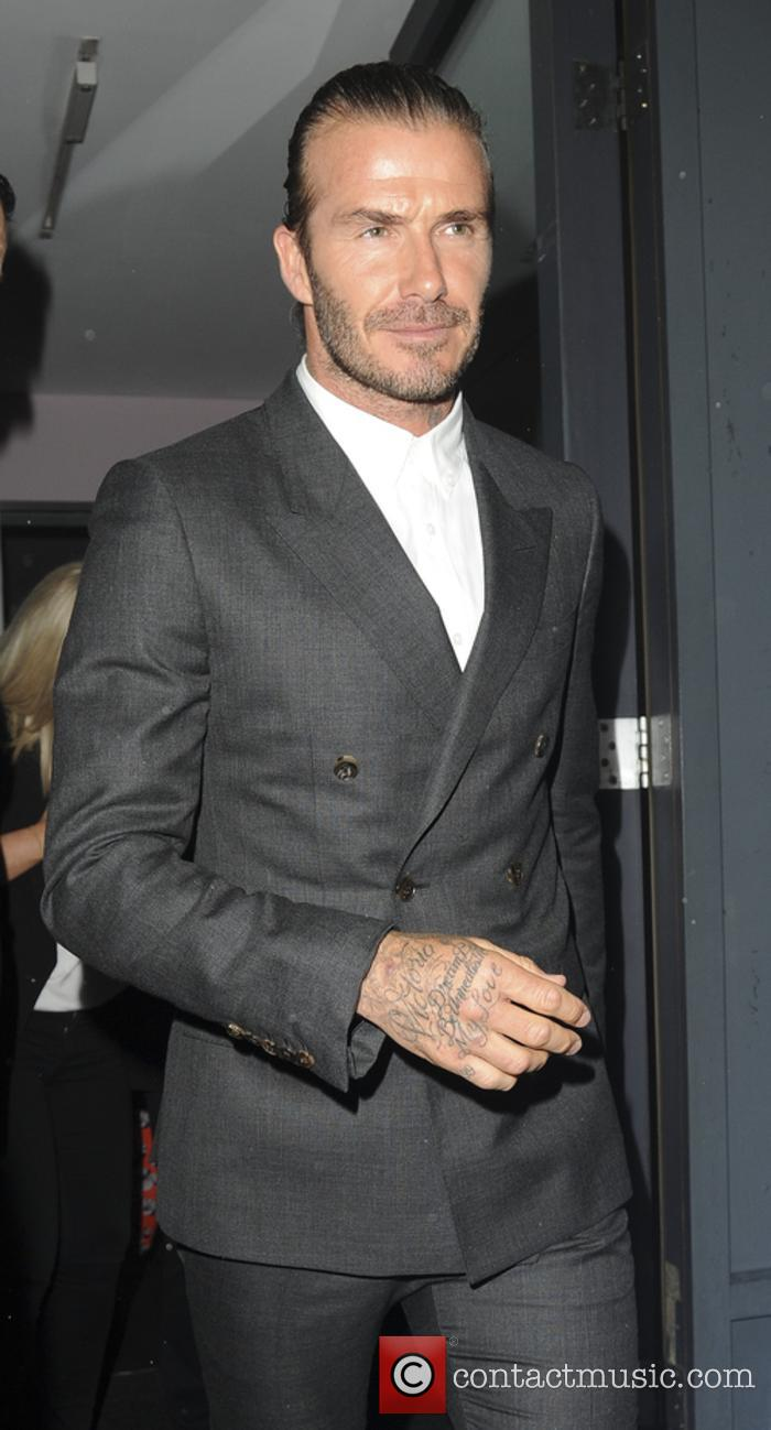 David Beckham at Brooklyn's 'What I See' book launch