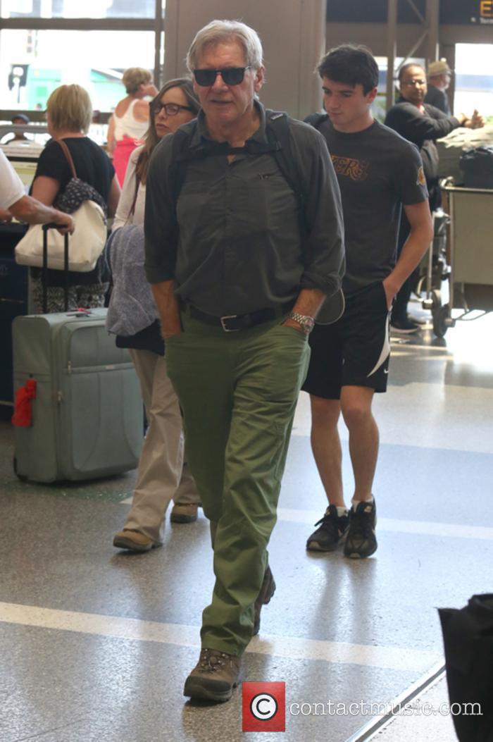 Harrison Ford, Calista Flockhart and Liam Flockhart 4