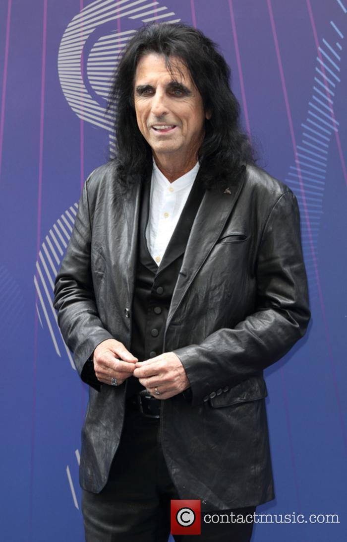 Alice Cooper at the Silver Clef Awards
