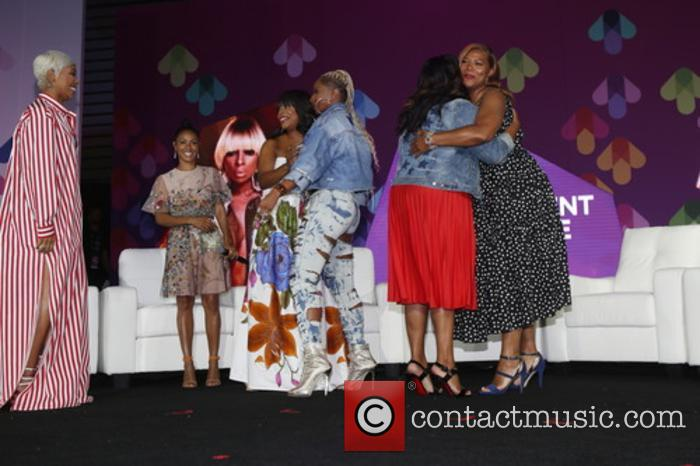 Monica, Jada Pinkett-smith, Niecy Nash, Mary J. Blige and Queen Latifah 1