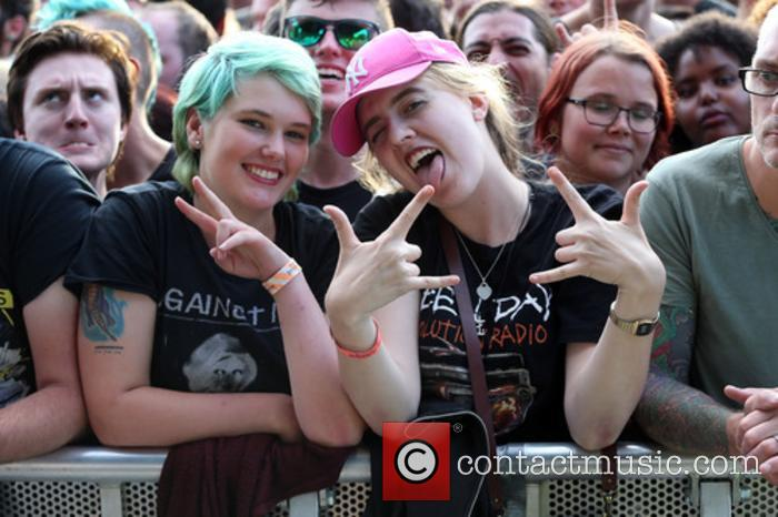 Green Day at BST