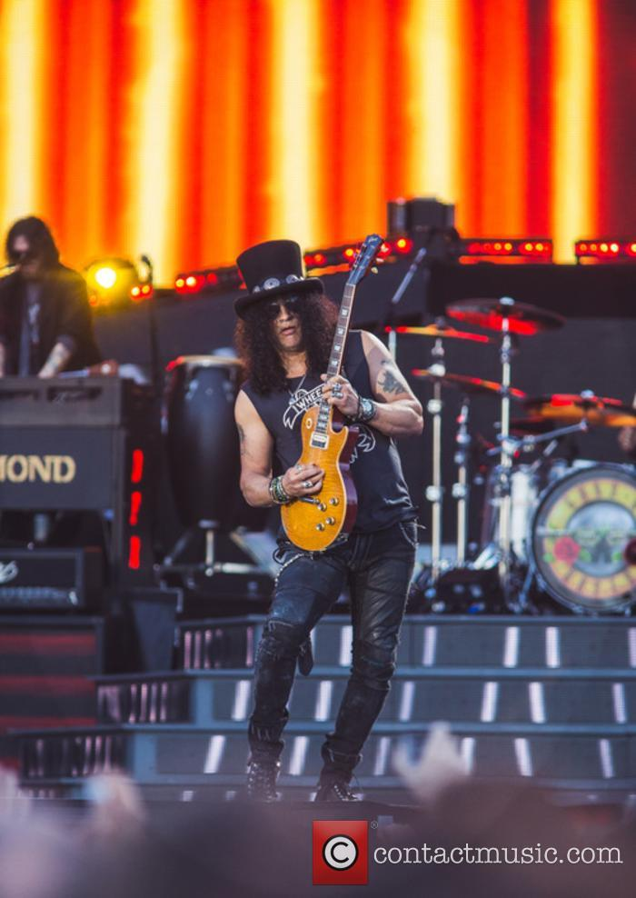 Slash and Guns N' Roses