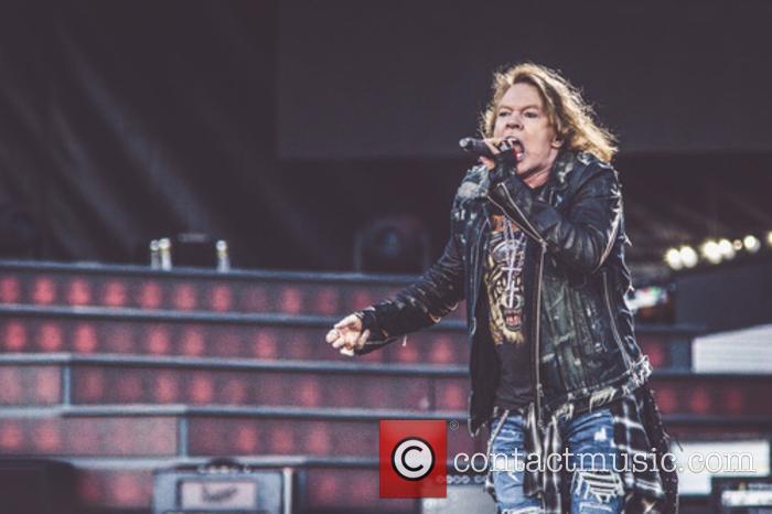 Axl Rose and Guns N' Roses 1