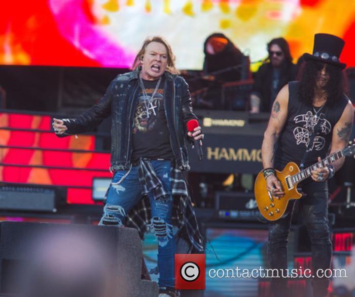Axl Rose, Slash and Guns N' Roses 3