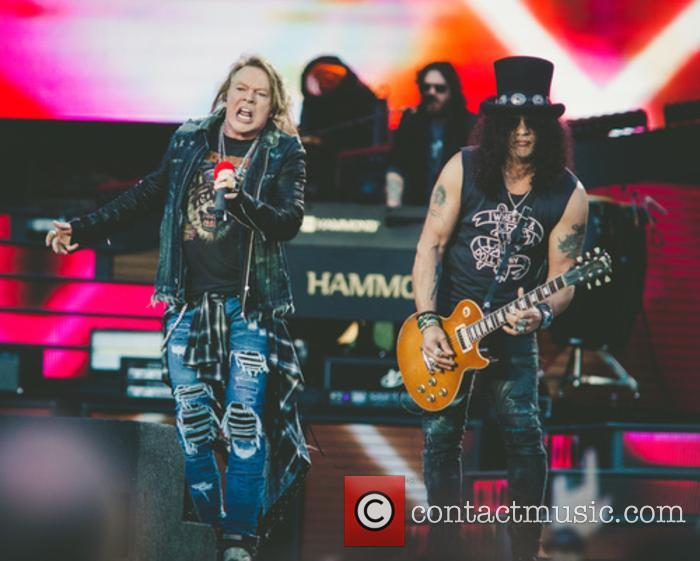 Guns N' Roses Announced As Final Headliner For Download Festival 2018