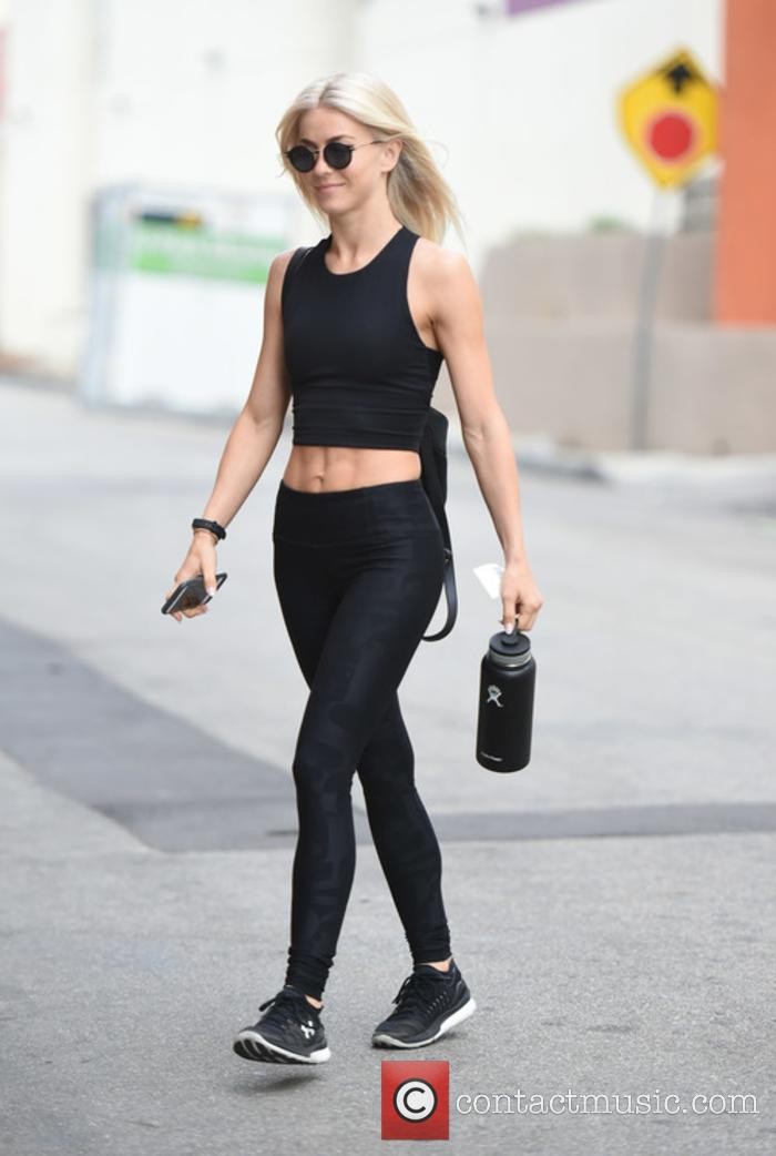 Julianne Hough hits the gym