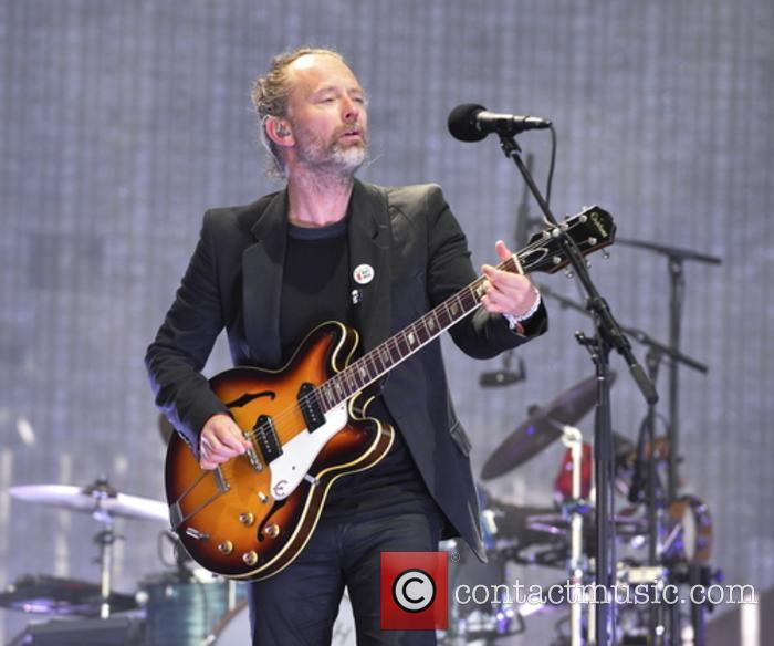 Radiohead playing at TRNSMT Festival