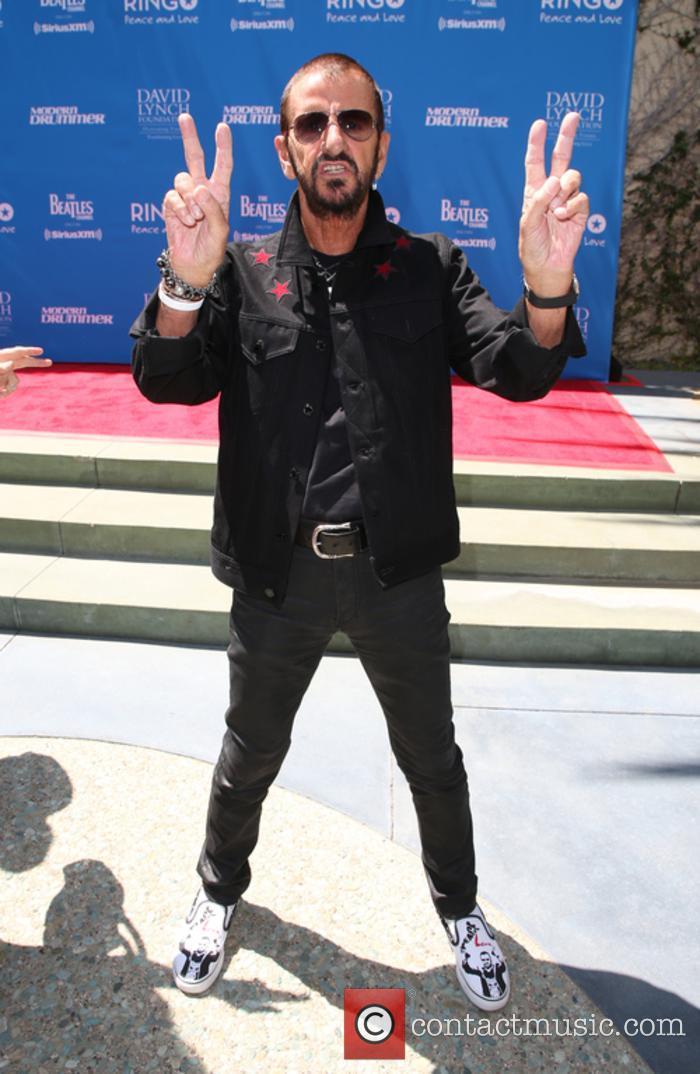 Ringo Starr celebrates his birthday