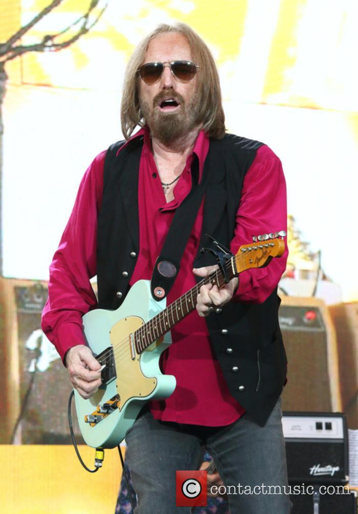 Tom Petty performing at BST Hyde Park 2017