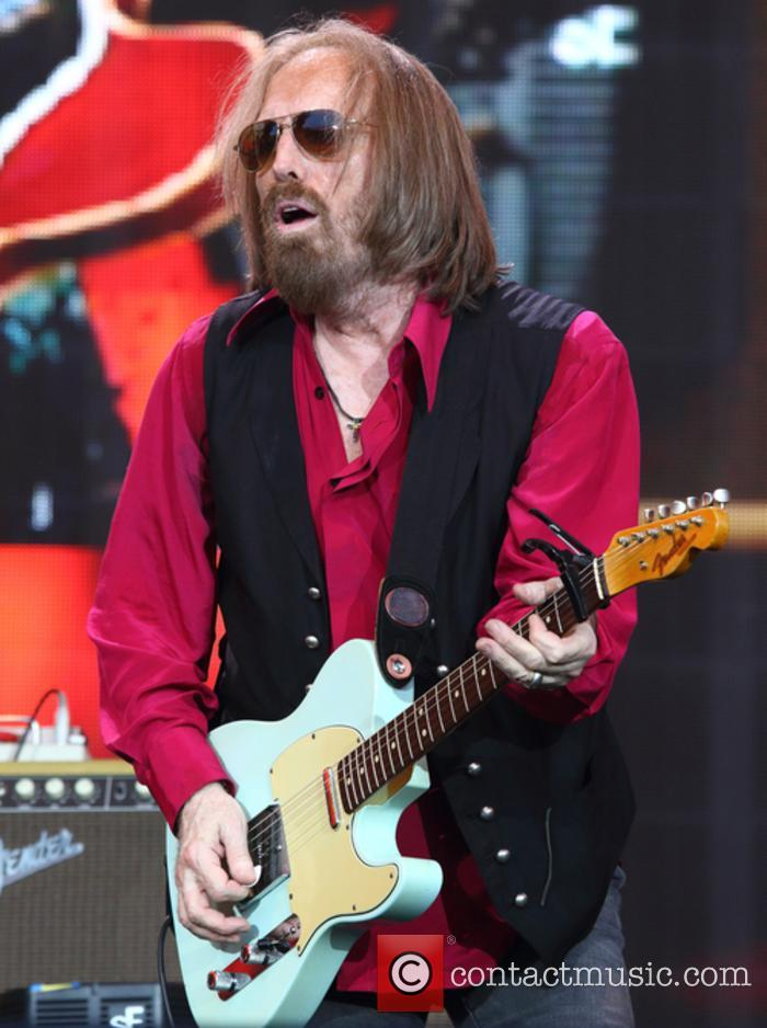 Tom Petty performing at British Summertime