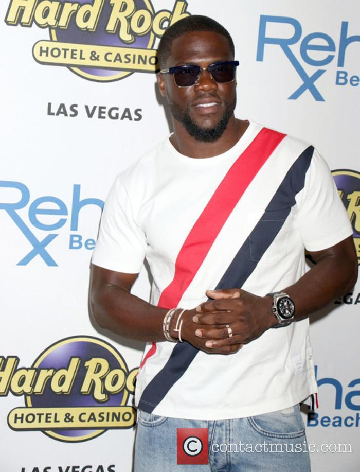 Kevin Hart celebrating his birthday in Las Vegas