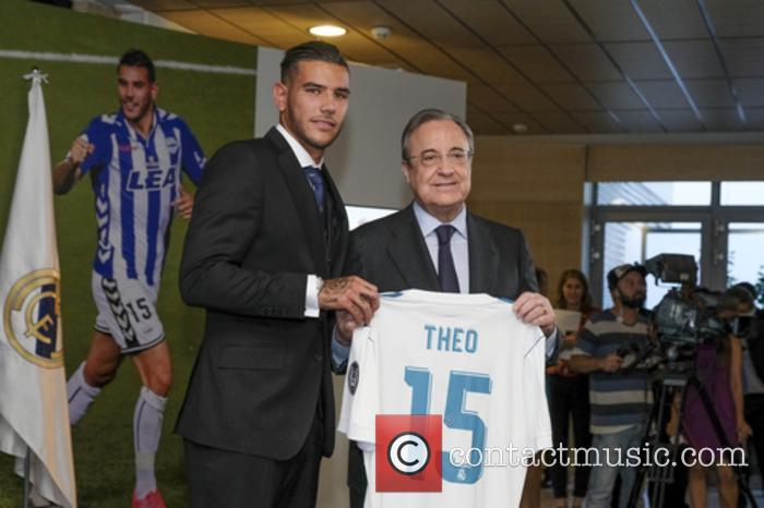 Real Madrid, Theo Hernandez and Florentino Perez