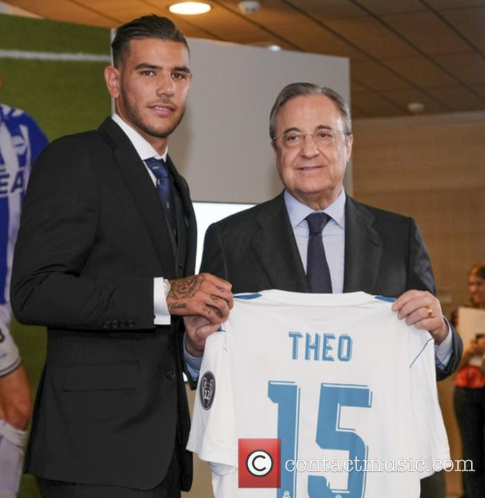 Real Madrid, Theo Hernandez and Florentino Perez 3