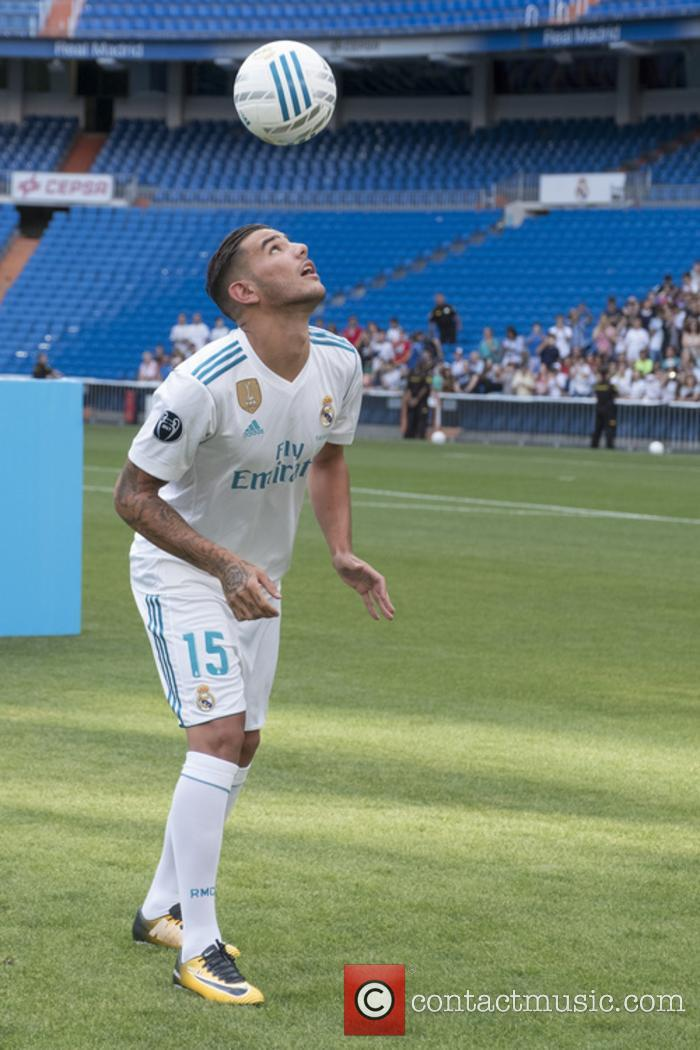 Real Madrid and Theo Hernandez 7