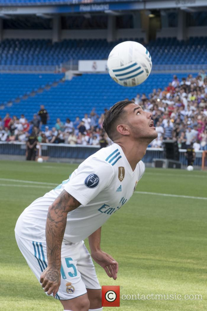 Real Madrid and Theo Hernandez 8