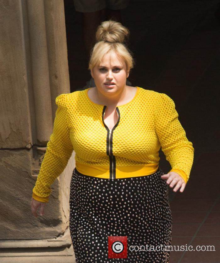Rebel Wilson shooting 'Isn't It Romantic'