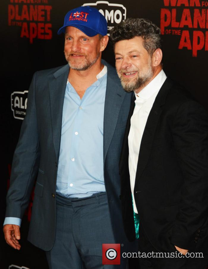 Woody Harrelson and Andy Serkis 1