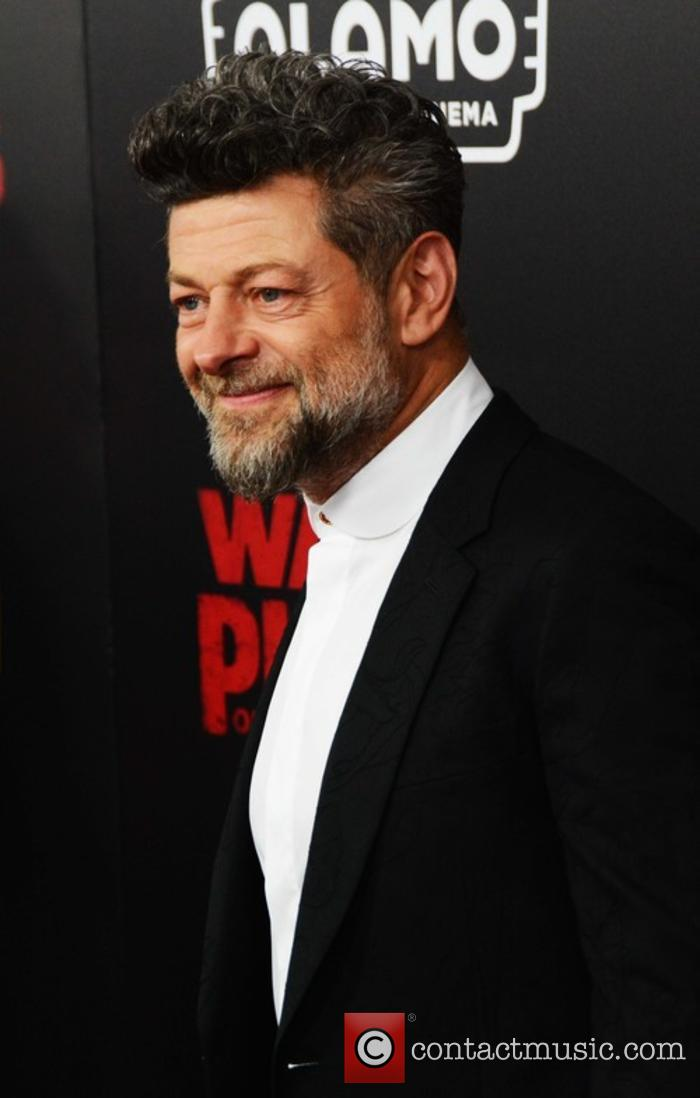 Andy Serkis attends the War for the Planet of the Apes premiere