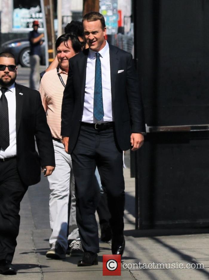Celebrities outside the 'Jimmy Kimmel Live!' studios