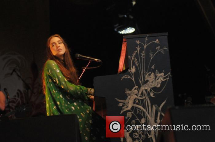Birdy performs at Somerset House