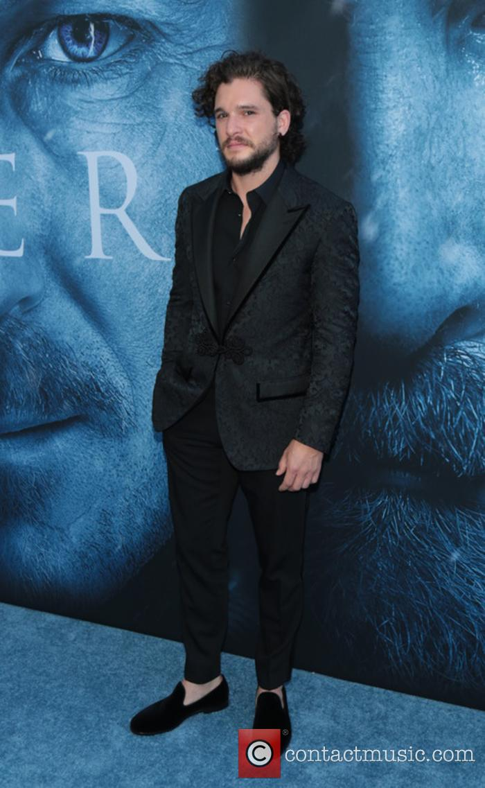 Kit Harington at 'Game of Thrones' premiere