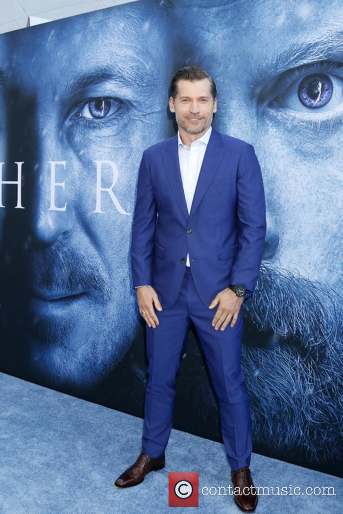 Nikolaj Coster-Waldau at 'Game Of Thrones' season 7 premiere