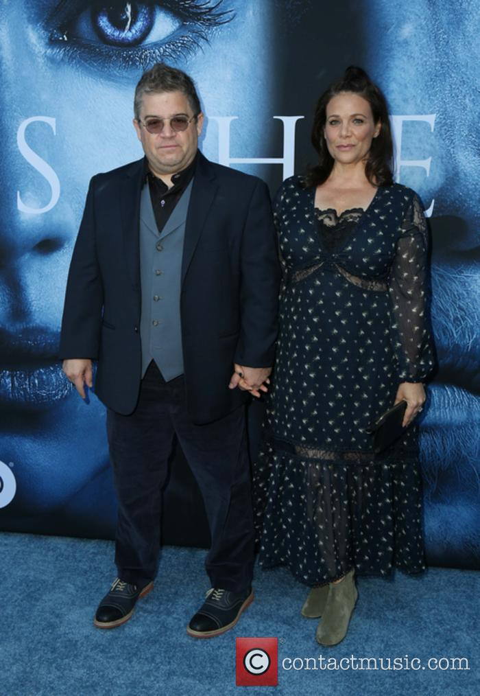 Meredith Salenger and Comedian Patton Oswalt