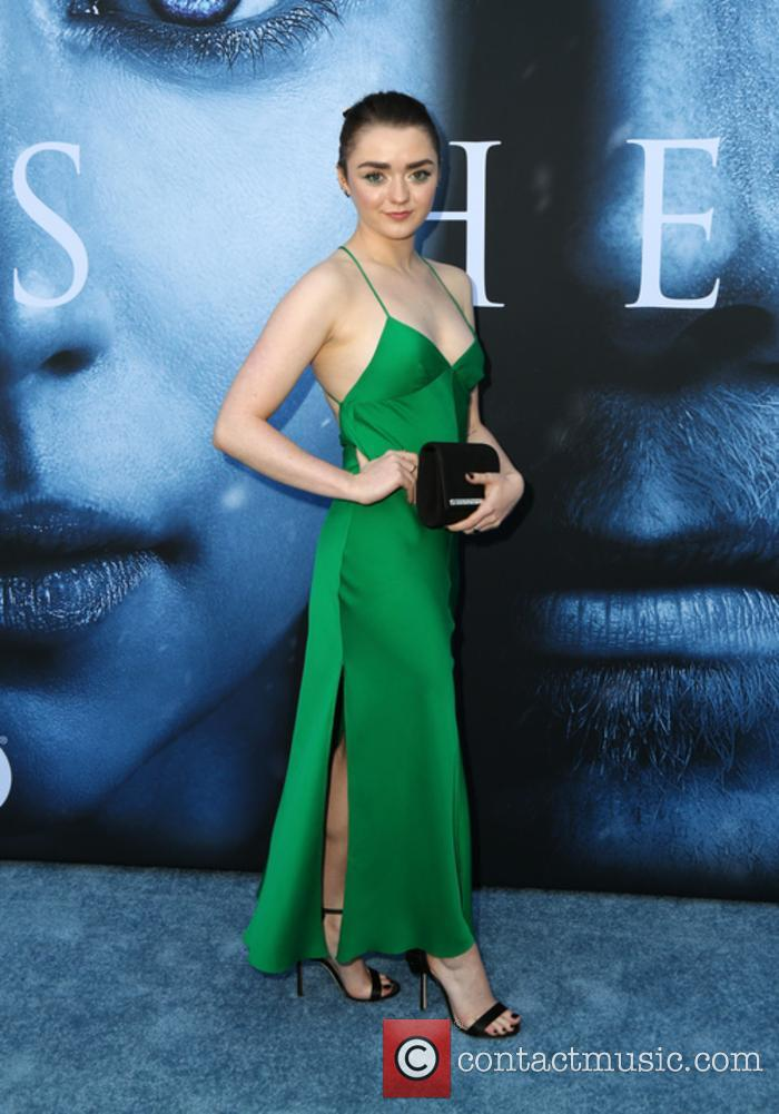 Maisie Williams turned heads on the red carpet