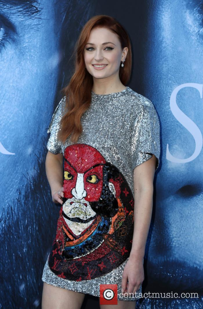 Sophie Turner's premiere dress is everything