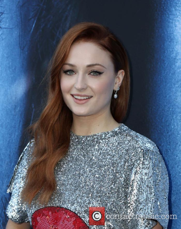 Sophie Turner Hits Out At Piers Morgan Over Celebs Tweeting About Mental Health