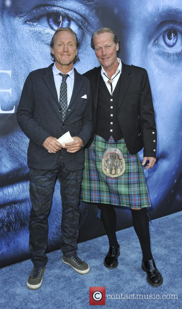 Iain Glenn and Jerome Flynn