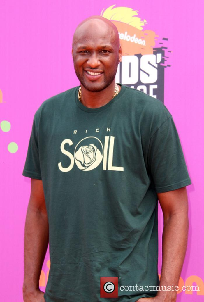 Lamar Odom at the Kids Choice Sports Awards