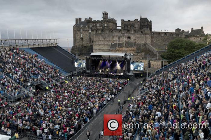 Wet Wet Wet perform live at Edinburgh Castle