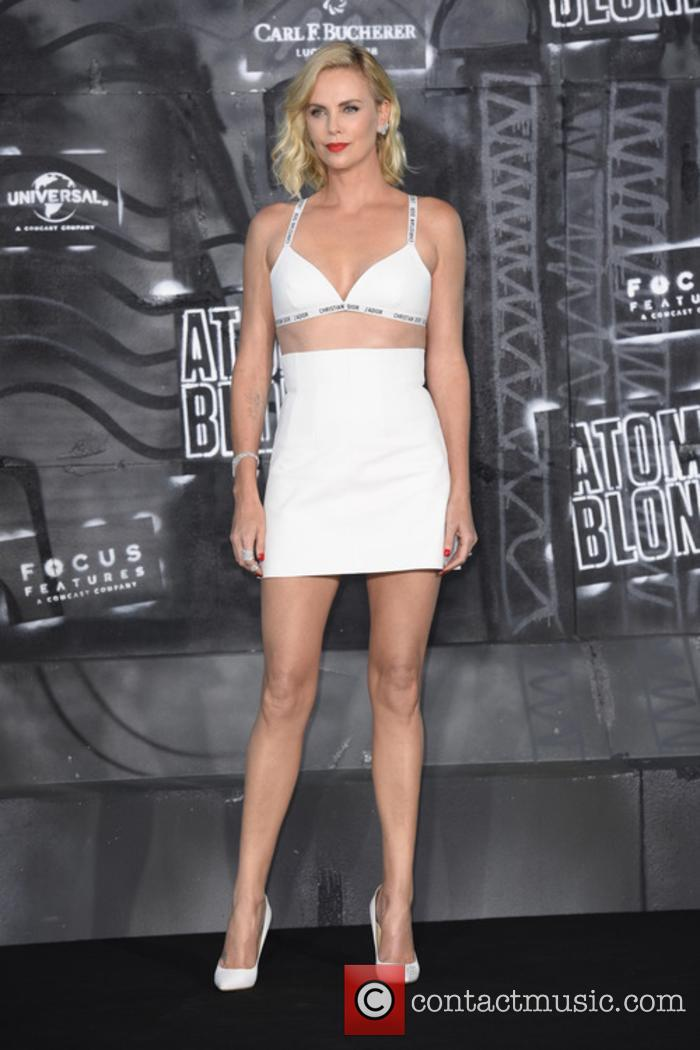 Charlize Theron at the 'Atomic Blonde' premiere