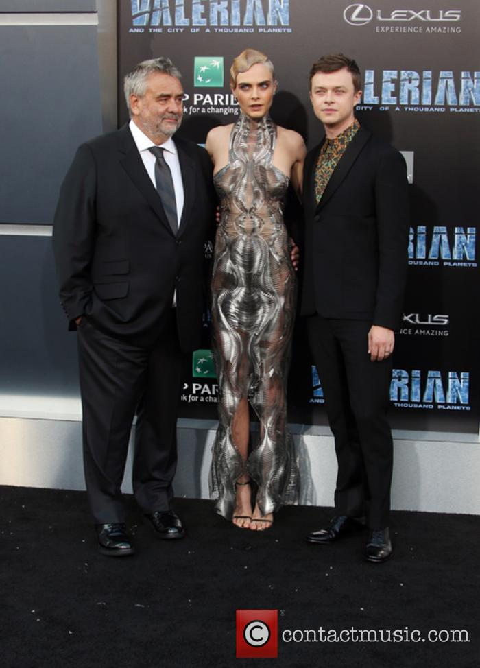 Luc Besson, Cara Delevingne and Dane Dehaan 9