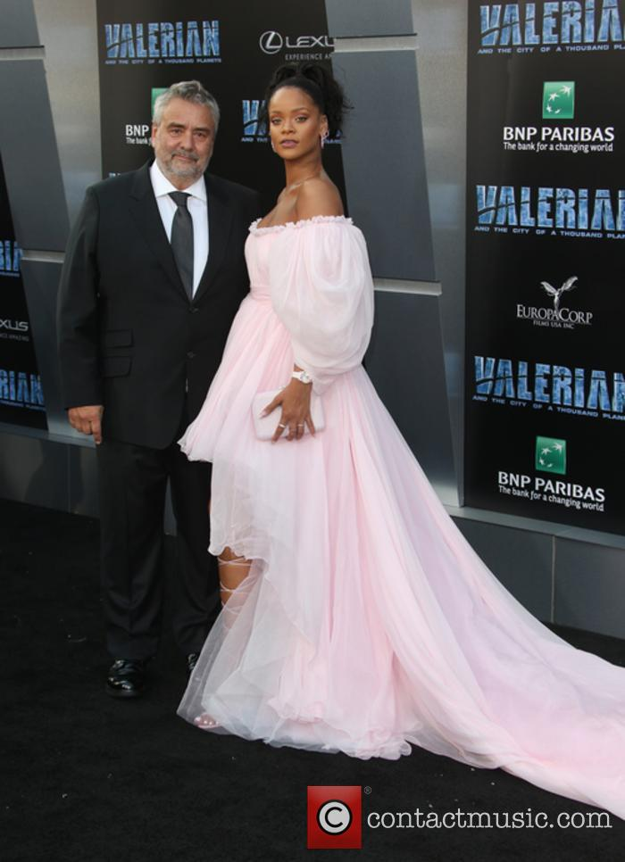Luc Besson and Rihanna 11